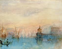 William Turner, Dogana, 1840 Aquarell